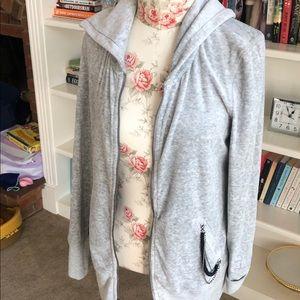 Juicy couture velour zip hoodie